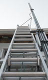 Exterior House Ladder Royalty Free Stock Image