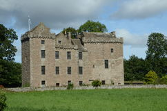 Exterior of Huntingtower Castle Stock Photo