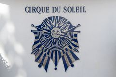Exterior image of the Cirque Du Soleil logo sign