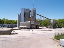 Exterior of an industrial area Royalty Free Stock Image
