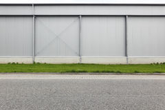 Exterior industrial building  Royalty Free Stock Images