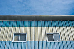Exterior of an industrial building Royalty Free Stock Photos