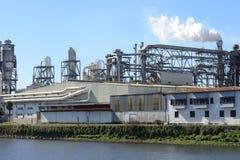 Exterior industrial da fábrica Fotos de Stock