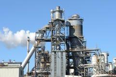 Exterior industrial da fábrica Imagens de Stock