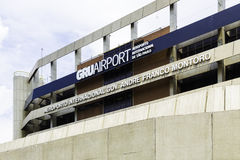 The exterior of the international Guarulhos Airport in Sao Paulo, Brazil Royalty Free Stock Photography
