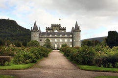 Exterior of Inveraray Castle Stock Images
