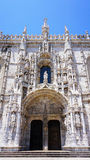 Exterior of jeronimos architecture vertical Stock Images