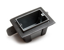 Exterior junction box royalty free stock photography