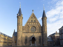 Exterior of the Knights` Hall at Binnenhof, The Hague, Netherlan Royalty Free Stock Image