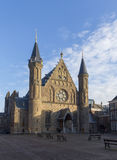 Exterior of the Knights` Hall at Binnenhof, The Hague, Netherlan Stock Photography