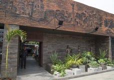 Exterior of LA CASA DEL CAMBA restaurant, Santa Cruz Stock Image