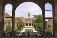 Exterior of the Lari house in Yazd, Iran. Stock Images