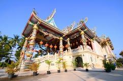 Exterior las creencias chinas religiosas, Tailandia de la capilla Foto de archivo