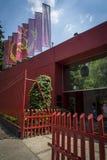 Leon Trotsky Museum, Coyoacan, Mexico City, Mexico stock image
