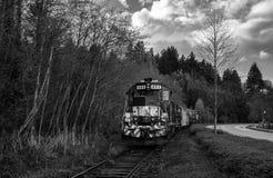 Exterior locomotor céntrico Imagen de archivo libre de regalías