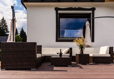 Exterior lounge Stock Image