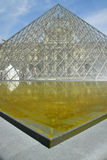 Exterior of the Louvre Museum, Paris, France Stock Photography