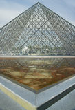 Exterior of the Louvre Museum, Paris, France Royalty Free Stock Photo