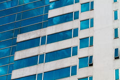 Exterior of luxury building hotel Royalty Free Stock Images