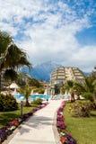 Exterior in luxury five stars hotel resort Stock Photo