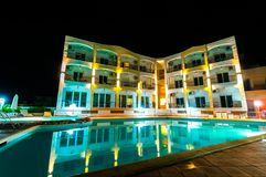 Exterior of a luxury hotel royalty free stock images