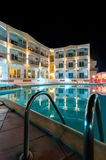 Exterior of a luxury hotel Royalty Free Stock Photo