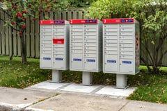 Exterior mailbox Royalty Free Stock Photography