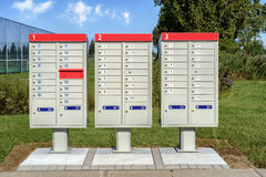 Exterior mailbox Royalty Free Stock Photo