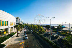 The exterior of the Mall of Asia and ferris wheel, in Pasay, Met Stock Photo