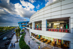 The exterior of the Mall of Asia and Seaside Boulevard, in Pasay Stock Images