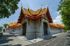Exterior of Marble Temple, Wat Benchamabophit, Bangkok, Thailand Stock Images