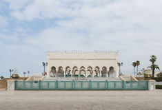 The exterior of Mausoleum of Mohammed V in Rabat Royalty Free Stock Images