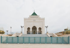 The exterior of Mausoleum of Mohammed V in Rabat Stock Photography