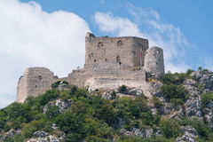 Exterior of the medival castle in Vrlika. Croatia Royalty Free Stock Images