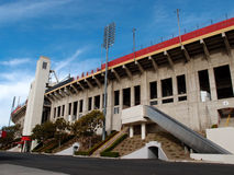 Exterior of Memorial Coliseum stadium Stock Photo