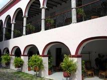 Exterior mexicano Imágenes de archivo libres de regalías