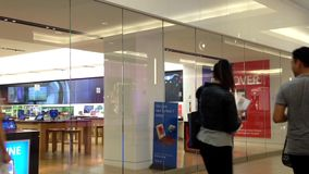 Exterior of a Microsoft store Stock Image