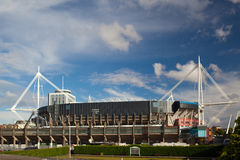 Exterior of the Millennium Stadium Royalty Free Stock Photos