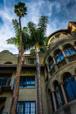 The exterior of the Mission Inn  Royalty Free Stock Photo