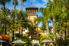 The exterior of the Mission Inn, in Riverside  Stock Image