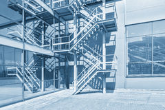 Exterior of the modern building. Royalty Free Stock Photography