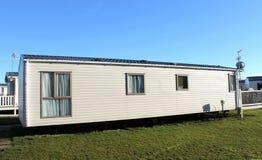 Modern caravan exterior Stock Image