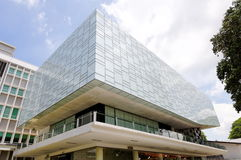 Exterior of modern glass building Royalty Free Stock Photo