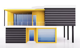Exterior of modern house Stock Photo