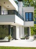 Exterior of luxury Villa. Exterior of modern luxury Villa royalty free stock photos