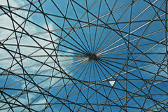 Exterior of the modern roof of the Maritime Museum in Amsterdam, Netherlands. Royalty Free Stock Photo
