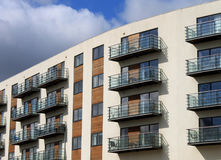 Modern vacation apartment building Stock Photography