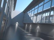 Exterior moderno da arquitetura Imagens de Stock Royalty Free
