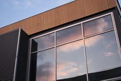 Exterior moderno del edificio Fotos de archivo libres de regalías