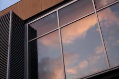 Exterior moderno do edifício Foto de Stock